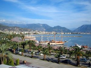 Alanya-harbour